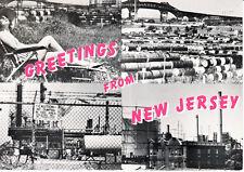 "POST CARD - NEW JERSEY - 1988 ""Greetings From NEW JERSEY"" Jersey-Joke Co. (MINT)"