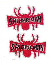 Spiderman Marvel Superhero Vintage Sticker Decal 2002 Rare Lot of 2