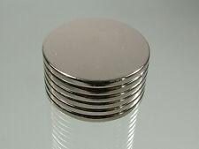15 Pcs Super Strong Round Disc 25 x 2 mm Magnets Rare Earth Neodymium N35