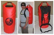 Impermeabile Dry Bag borsa da trasporto. IMBOTTITO Zaino CINGHIE. 85 L Trasporto 2 Mute facile