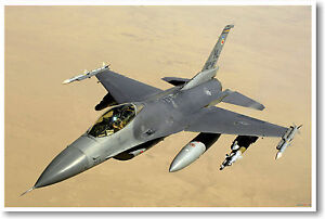 F-16 Falcon Tactical Fighter - POSTER