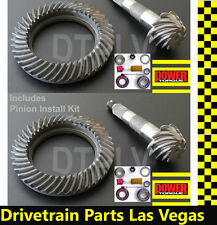 Dana 35 30 Jeep Ring and Pinion Gear Set Pkg w Install Kit 4.10 4.11 Ratio DTPLV