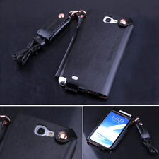 New Luxury Leather Case Pouch Cover For Samsung Galaxy Note 2 II N7100 7 Colors