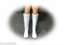"Boots 4 Vintage Madame Alexander ~ For Fashion 16"" Doll WHITE"