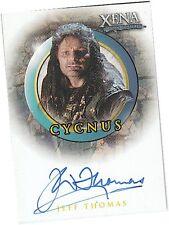 "Quotable Xena - A46 Jeff Thomas as ""Cycnus"" Auto/Autograph Card"