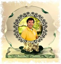 Daniel O'Donnell glass Photo custom made Edition  perfect gift for the fan