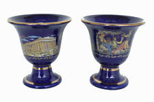 Pythagoras cup Parthenon Dionysus blue two quality cups