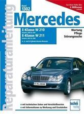 Mercedes E-Klasse W210, 2000-2001, W211, 2002-2006 Benziner (2009, Kunststoffeinband)