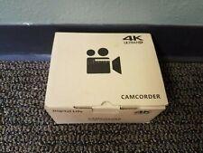 New Camcorder 4K Ultra HD 48MP Video Camera YouTube Live Streaming 30X Digital