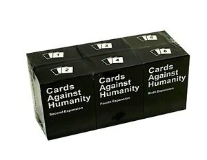 6PC Cards Against Humanity Expansion Pack FULL SET AU Stock