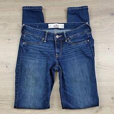 Hollister Stretch Skinny Women's/Girls Jeans Size 1R W25 L29 Actual W27 (F3)
