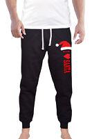 Men's I Love Santa Jogger pants sweatpants Fitted Xmas Christmas Holiday V619