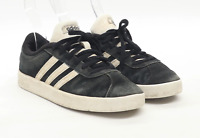 Adidas Boys UK Size 2 Black Suede Trainers