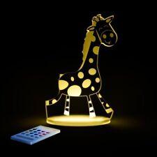 Sleepy Lights Giraffe Multi-Coloured LED Night Light With Remote Control