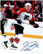 Philadelphia Flyers SIMON GAGNE Signed Autographed 8x10 Pic B