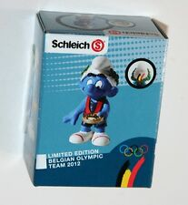 Schleich - Medal Winner Smurf BELGIAN OLYMPIC TEAM 2012 *New* Boxed (Promo)