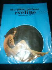 70er J. eveline Vintage Feinstrumpfhose Gr. 40-42 diamant 20 den Collant OVP