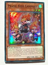 3x Prank-Kids Lampsies HISU-EN015 Super Rare 1st Edition NM Yugioh
