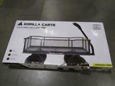 Gorilla Carts 1,000 Steel Utility Cart Gor-2345