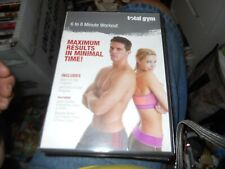 Total Gym 6-8 Minute Workout Maximum Results in Minimal Time! Dvd Free Shipping
