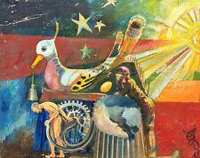 Knud SCHOU (1913-1999) » Surrealistische Szene «