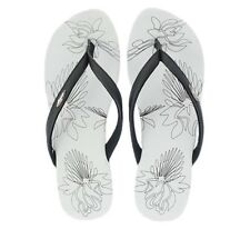 Oakley Dartboard Black Grey Size 11 US Womens Girls Sandals Beach Flip Flops
