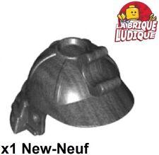 Lego 1x headgear Helmet casque Ninja ninjago Samourai pearl dark gray 98128 NEUF