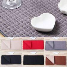 Microfiber Dish Drying Mat For Kitchen Cushion Pad Tableware 38 x 51 cm