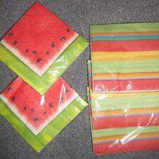 Party Napkins choice of Watermelon or Sriracha