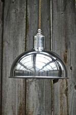 Elegante Pulido Aluminio Colgante Pantalla De Luz Retro Lámpara de Techo Sombra Bl10 Sr4