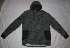 NWT Mens UNDER ARMOUR Camoflauge Camo Fitted Hoodie Sweatshirt - size 2XL