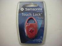 Samsonite Travel Touch Lock Red NIP