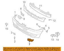 TOYOTA OEM 04-05 Sienna Bumper-Foglight or Tow Hook Cover Cap Right 52127AE010