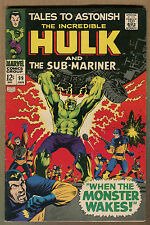 """Tales to Astonish #99 - """"When the Monster Wakes!"""" 1967 (Grade 6.0)Wh"""