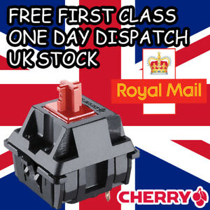 5 x NEW Cherry MX Red Switches Replacement Tester Genuine Cherry UK Stock