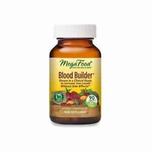 MegaFood Blood Builder Iron Multivitamin - 90 Tablets | Health Red Blood Cells