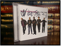 All The Time ✎SIGNED♫ by THE TEMPTATIONS OTIS RON TERRY WILLIE New CD Booklet
