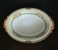 Rare Vintage Noritake Floreal Oval Serving Platter Serving Bowl made in Japan