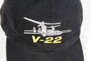 Baseball Cap - Aviation BOEING V-22 - Black - Embroidery Adjustable Cotton Gift