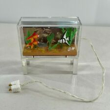 Lundby Aquarium Fish Tank Vintage Dollhouse Furniture Accessories