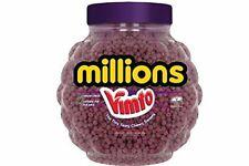 VIMTO MILLIONS 2.2KG FULL JAR, RETRO SWEETS PICK N MIX BABY SHOWER TINY PURPLE