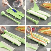 Set per fare Sushi in casa facilmente con Ricette 3 Pezzi Design innovativo