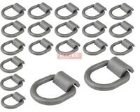 """(20 Pack) 1/2"""" Heavy Duty Weld-On Forged D Ring 12,000 Lbs"""