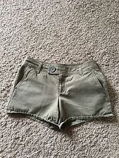 Old Navy Shorts Casual 100% Cotton Color Green Size 4