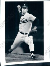 1989 Chicago White Sox Baseball Player Pitcher Bobby Thigpen Press Photo
