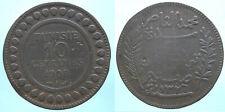 Tunesien 10 Centimes 1908A  Bro