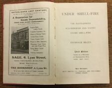 1917 - Under Shell-Fire.  Hartlepool, Scarborough And Whitby Under Shell- Fire