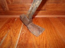Antique Log Hewing Adze Timber Frame Log Cabin Hand Hewn Log Tool