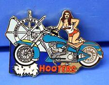 HOOTERS GIRL TEAL MOTORCYCLE MURRELLS INLET SC SOUTH CAROLINA PUZZLE PIN