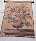 """Tuscan Urn Floral Tapestry Wall Hanging 33 1/2"""" H x26 3/8""""""""W"""